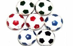 Partyrama 10 x Bouncy Footballs - Boys Party Bag Fillers Super Bouncer Football - Pack of 10. Size: 35mm Assorted Colours Great fun for all kids, Soccer, football and themed Parties Great Value For Your Money Disclaimer: Colour (Barcode EAN = 5050203270507) http://www.comparestoreprices.co.uk/football-equipment/partyrama-10-x-bouncy-footballs--boys-party-bag-fillers.asp