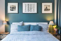 Une tête de lit originale pour la chambre à coucher