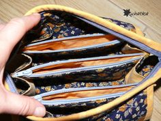 Uhatkowe uszytki: Nowa kosmetyczka = większy porządek w torbie?