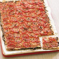 Filo Tomato Tart | MyRecipes.com