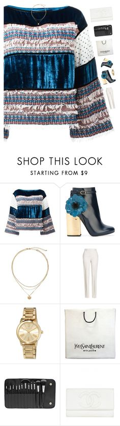 """""""Passion"""" by genesis129 ❤ liked on Polyvore featuring See by Chloé, Laurence Dacade, Jil Sander, MICHAEL Michael Kors, Yves Saint Laurent, BHCosmetics and vintage"""