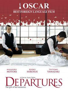 The departures (Okuribito Go To Movies, Great Movies, Music Film, Dance Music, Japanese Film, Japanese Drama, Free Films, French Movies, Cinema