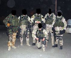 British SAS were doing missions in Iraq as part of Task Force Black.  [special-air-service-photo]