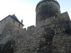 Zamek Będzin z boku