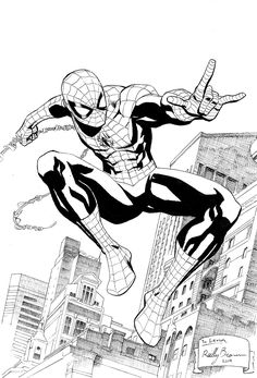 reillybrown:   Here's a drawing of Spider-Man I... - Art Vault