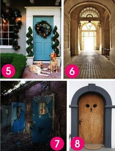 Which of These Doors You'd Open Reveals an Eerily Accurate Insight Into Your Personality Love Craft, Balloons, Doors, My Love, Crafts, Home Decor, Insight, Personality, Recipes