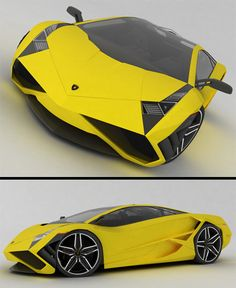Lamborghini X Concept  Stylish Lamborghini concept designed by Emil Baddal from Iran.