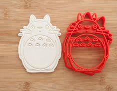 My Neighbor Totoro. Cookie cutters. by CoolCookiesCutters on Etsy
