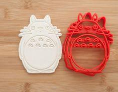 Totoro cookie cutter.