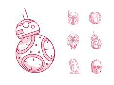 Let's go with different style... Download first Star wars icon pack for free. See all the icons in detailed view. Only two weeks untill the movie premier. Can't wait! :) Follow: Tumblr | Twitter ...