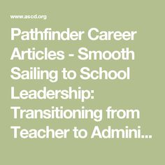 career profile of the transition from school Our transition and career training programs are extensive, and include career classes, internships, structured learning experiences (sles), community based we aim to make the transition from school to adult life exciting and stress free for the student and his or her family by providing effective.