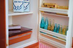 Mini Geladeira Brisa - Brinquedos ELKA  antiga mini geladeira, brinquedos anos - 70