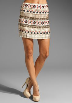 YUMI KIM Ana Embellished Skirt in Multi Cream at Revolve Clothing - Free Shipping!
