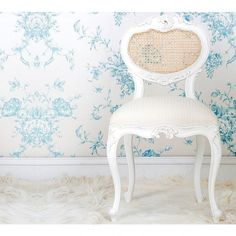 Provencal Heart Chair - French Bedroom Chair