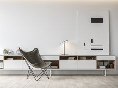 When asked to design an apartment for a young IT engineer in Montenegro, the Architectural&Construction group took a modern, minimalist approach. Interior Minimalista, Design Minimalista, Minimalist Interior, Modern Minimalist, Minimalist Design, Montenegro, Minimal Apartment, Interior Architecture, Interior Design