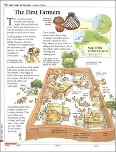 the first farmer European History, World History, Ancient History, American History, Ancient Mesopotamia, Ancient Civilizations, Medieval Life, History Timeline, Teaching History