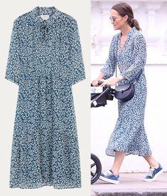 Pippa Middelton wears ba&sh 'Bonnie' dress Pippa And James, Kate And Pippa, Pippa Middleton Style, Princess Kate, Royal Fashion, Everyday Fashion, Classic Style, Glen Affric, Chic