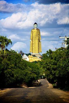 Reclining Buddha and Standing Buddha