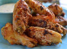 Parmesan & Garlic Chicken Wings (2)
