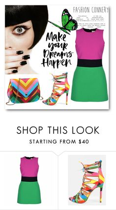 """Make your dream happen"" by fashionconnery ❤ liked on Polyvore featuring FAUSTO PUGLISI, women's clothing, women, female, woman, misses and juniors"