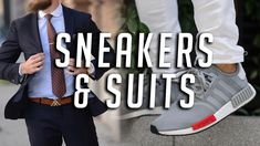 How to Wear Sneakers With Suits    Men's Fashion    Gent's Lounge