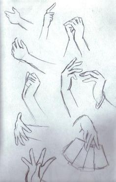 How to Draw Anime Hands. Still bad at this!