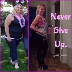 never give up. this is such an inspiration!