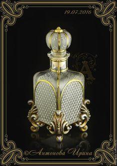 """Купить Набор для туалетного столика-""""Средневековье"""" - серебряный, набор, для дома и интерьера, для украшений, для девушки, для интерьера"""