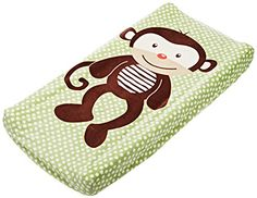 Change Pad Pals Is a fun and #cute way to cover up your changing pad. It is machine washable making it easy to clean up accidents. Change pad cover fits most sta...