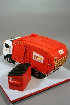Garbage Truck Birthday Cake | Flickr - Photo Sharing!