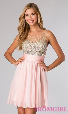 Sleeveless Party Dress from JVN by Jovani at PromGirl.com