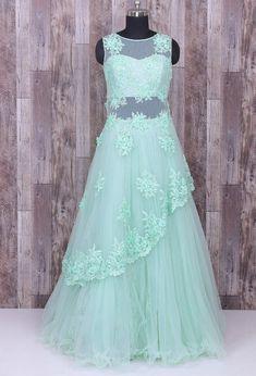 033b082e98df3 Beautiful Net indo western dress