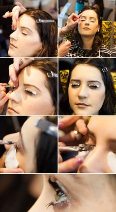 See what it's like to get your eyelashes dyed, tinted + permed in this beauty confessional.