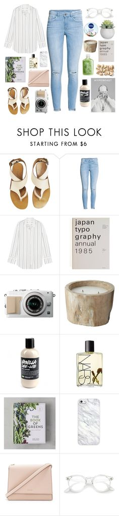 """Greenery"" by shirrlinnn ❤ liked on Polyvore featuring Chloé, H&M, Equipment, Lazy Susan, NARS Cosmetics, Nivea and Kate Spade"