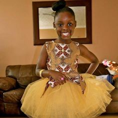 Little girl African fashion