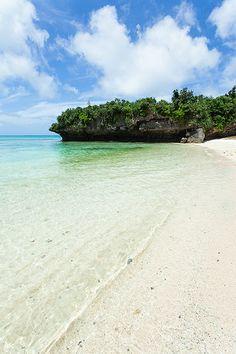 Panari Island (Aragusuku Island), Okinawa #Japan