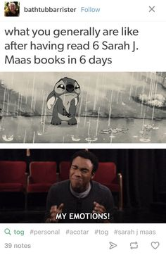 So me!! I finished the ToG books 1-5 and assassins blade in 6 days bc I was wayyyy to invested and obsessed w/ aelin ashryver galathynius being a bomb ass queen, Manon black beam the black beak heir, wing leader and last crochan queen being bad ass in general, lysandra, elide. Kaltain, sorscha, nesryn, nehemia, rowan, Aedion, Dorian, ren, chaol, galan, ansel....