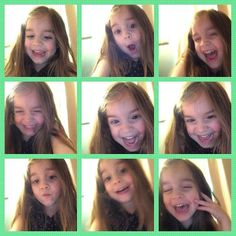This crazy little four year old grandie was playing on my iPad yesterday...OVER 500 pictures   Here's hoping that you are all having as crazy a weekend as we are having   #grandies #shananigansofafouryearold #photoop by joycefetty
