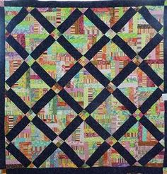 Fab strings quilt