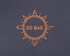 Go Bag - Compass/Rugged Logo