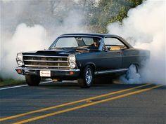 1966 Ford Fairlane GTA #burnout