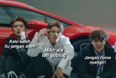 ideas for memes kpop bts indonesia Funny Baby Jokes, Memes Funny Faces, Funny Kpop Memes, Funny Babies, Nct, Ntc Dream, K Meme, Drama Memes, Cartoon Jokes