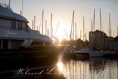 yachts at sunset #Ca