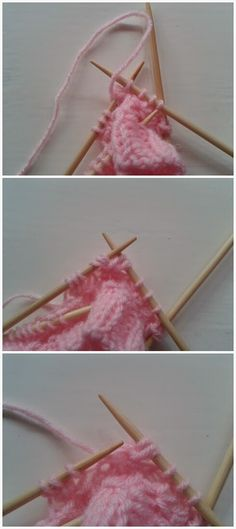 Lumioosi: Pinkki pitsisukka Knitted Baby Clothes, Baby Knitting, Fruit, Crochet Slippers, Spats Shoes, Baby Afghans