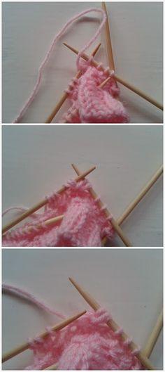 Lumioosi: Pinkki pitsisukka Knitted Baby Clothes, Baby Knitting, Fruit, Crochet Slippers, Spats Shoes, Tricot Baby, The Fruit, Baby Knits, Baby Quilts