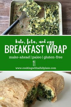Make your own version of Starbucks' egg white wrap at home! You'll spend less… Breakfast Wraps, Make Ahead Breakfast, Breakfast Recipes, Breakfast Cooking, Gluten Free Wraps, Real Food Recipes, Healthy Recipes, Healthy Eating, Healthy Food