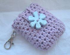 Crochet Pattern Kleenex Tissue Holder Case Cozy Keychain - Mini Kleenex Tissues instant download