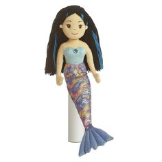 Sea Sparkles Morgana mermaid soft doll - $13