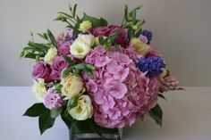 Beautiful hydrangea bouquet