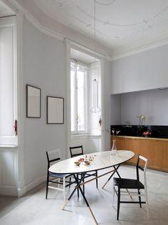 Kitchen design by Pietro Russo. Photo by Filippo Bamberghi.